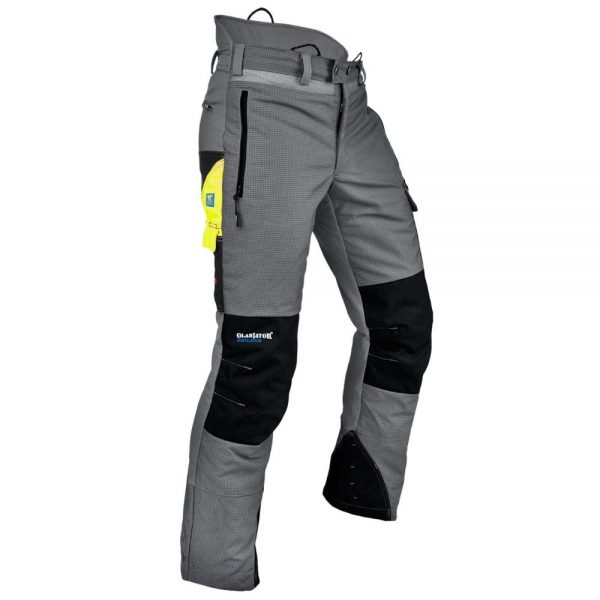 Pfanner Ventilation Chainsaw Pants Grey