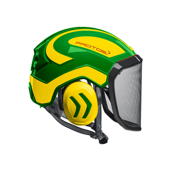 protos integral arborist helmet green yellow tcm 1