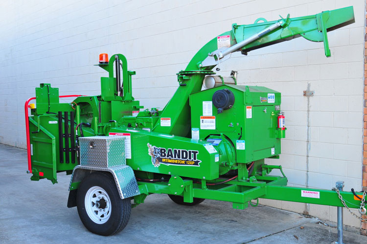 wood chipper bandit 12xp drum chipper