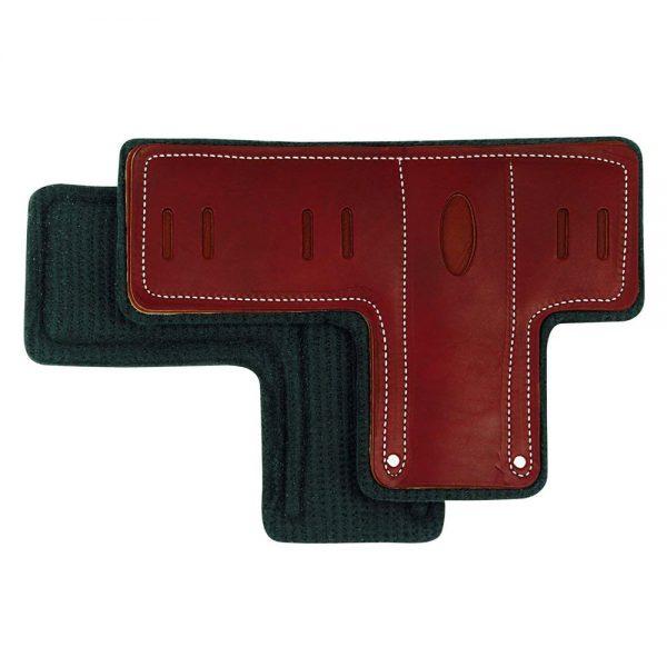 buckingham leather tpads pair