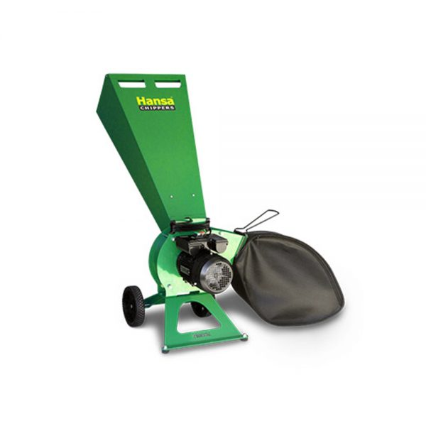 hansa c3e electric start wood chipper 02