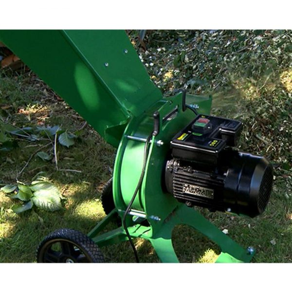 hansa c3e electric start wood chipper 03