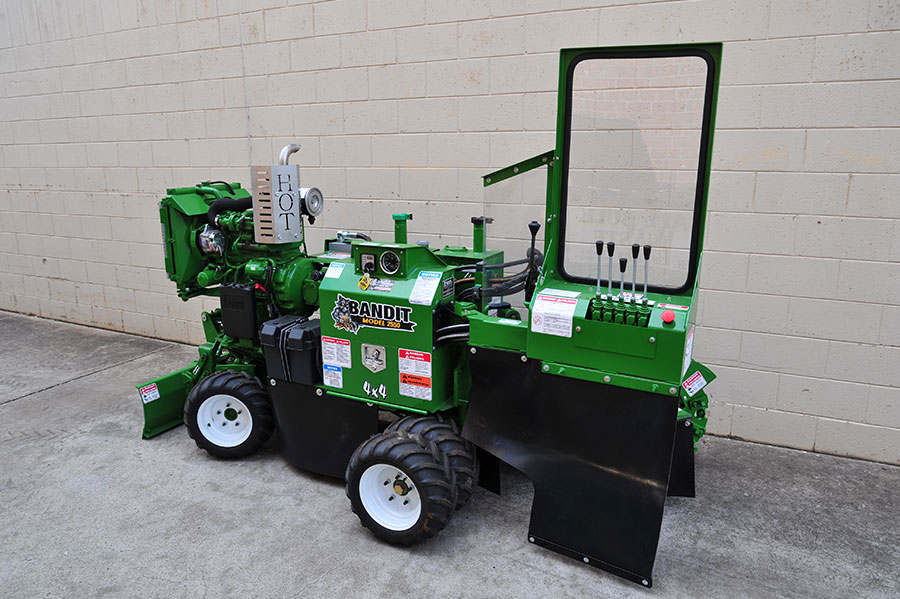 hire stump grinders bandit 2550 xp stumpgrinder