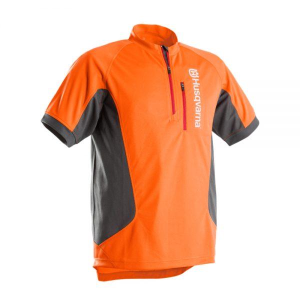 husqvarna technical short sleeve work shirt