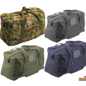 multi purpose canvas army echelon bags
