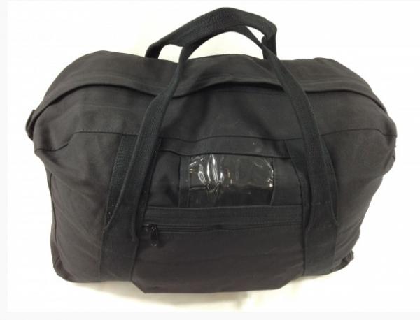 multi purpose canvas arrmy echelon bag black