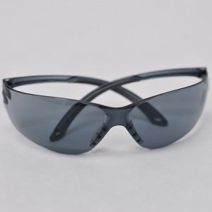 polycarbonate safety glasses smoked
