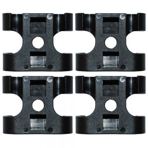 replacement clips for stump grinder guard system 4 pack