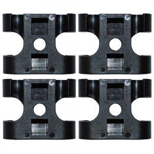 replacement connection clips for stump grinder guard system