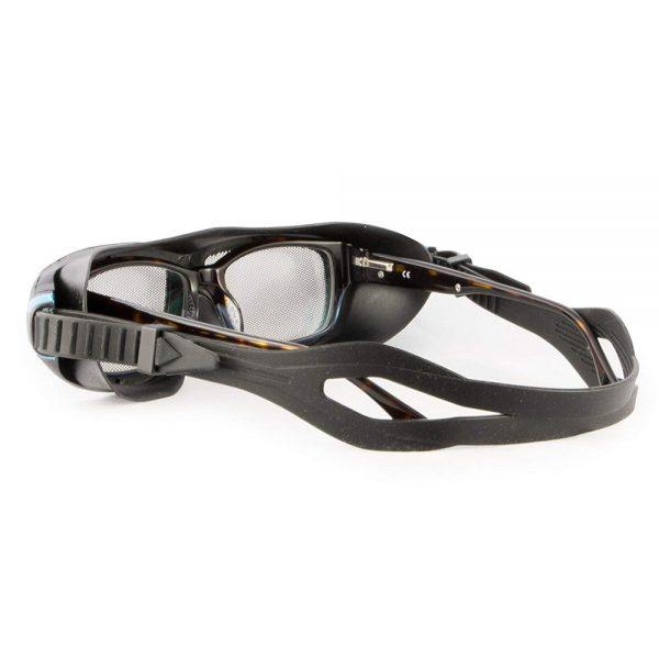 safe eyes mesh safety goggle blue clip 2