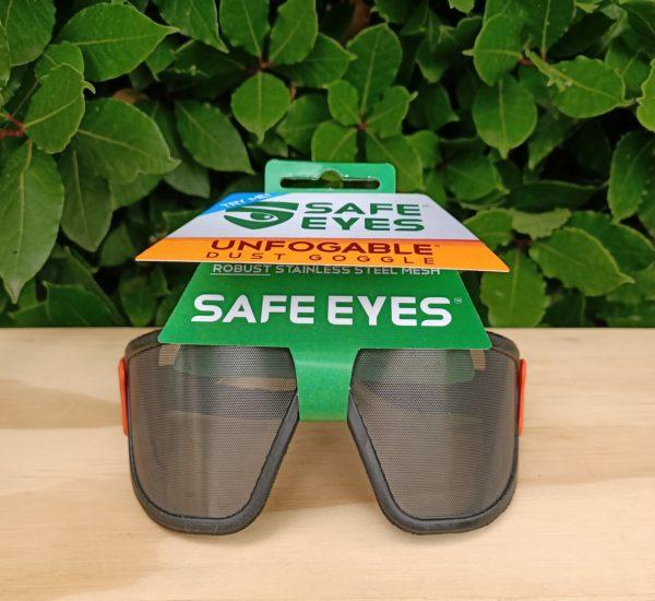 safe eyes original fine mesh safety goggles orange clip