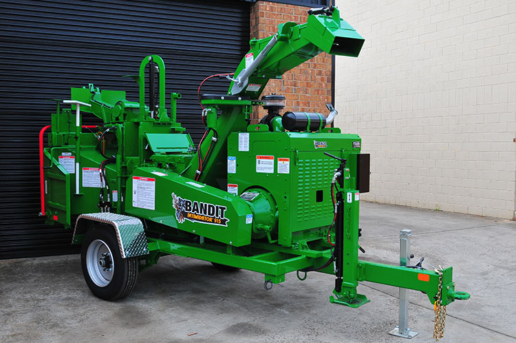 bandit 15xpc drum chipper hire