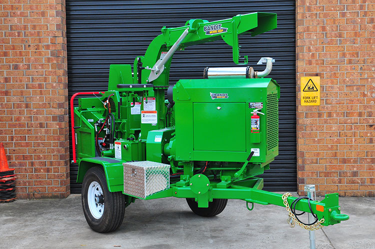 bandit 90xp drum chipper hire