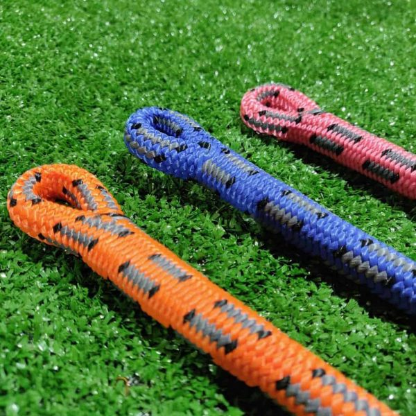 donaghys cougar orange cougar blue cougar pink climbing rope spliced