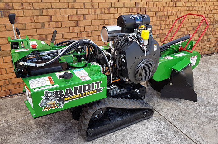 stump grinders bandit zt1844 hire