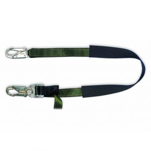 Webbing Pole Straps 2.7m with Double Action Snap Hooks 2