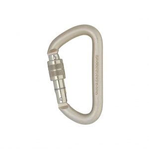 DMM 12mm Offset D Screw Gate Carabiner