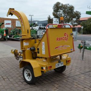 rayco wood chipper used