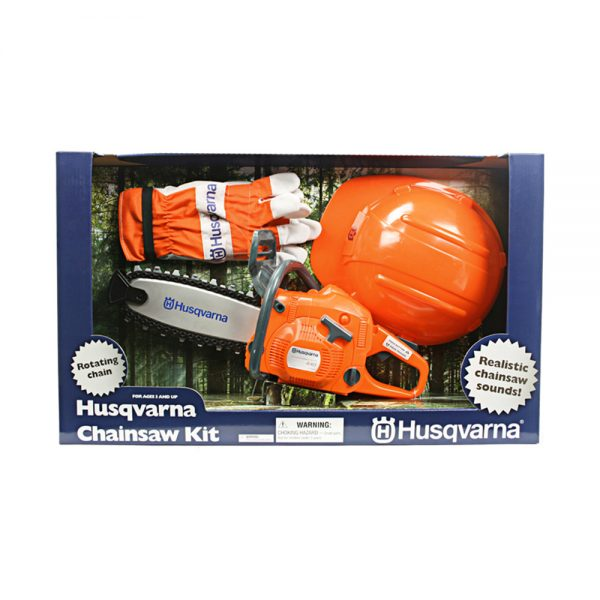 husqvarna kids toy chainsaw kit tcm