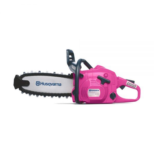 husqvarna kids toy pink chainsaw tcm