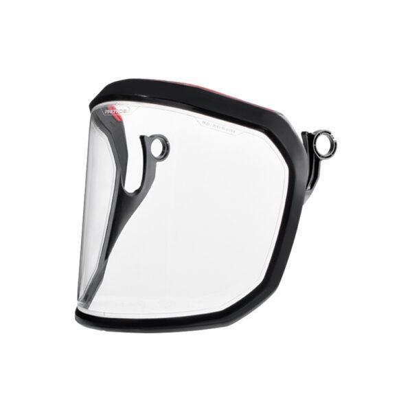 protos integral clear polycarbonate helmet visor tcm