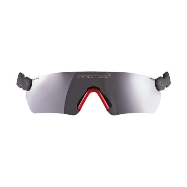 protos integral safety glasses grey tinted tcm