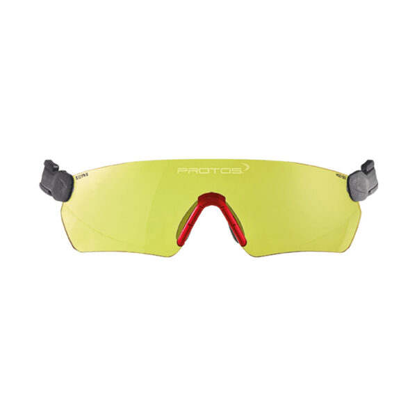 protos integral safety glasses yellow tcm