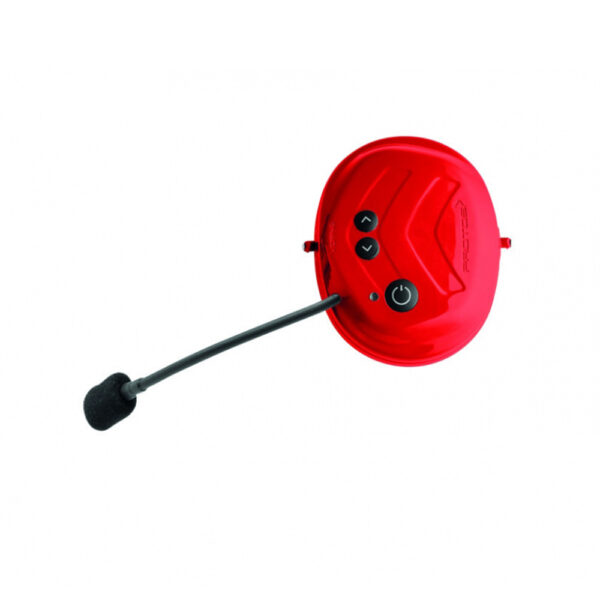 protos integral bt com bluetooth communication system red